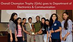 Overall Champion Trophy (Girls)